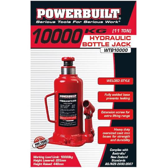 Powerbuilt Bottle Jack 12 Ton