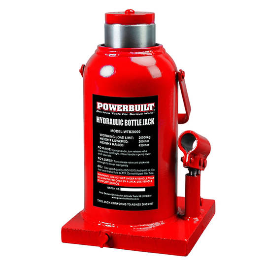 Powerbuilt Bottle Jack 20 Ton