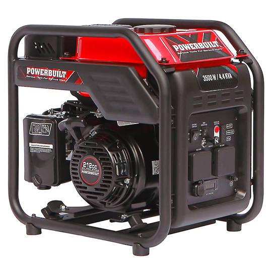 Powerbuilt 3500W / 4.4kVA Inverter Generator