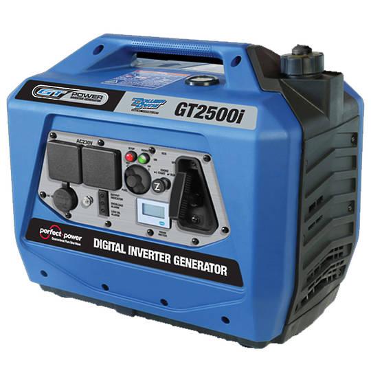 GT Power 2500W Silenced Inverter Generator