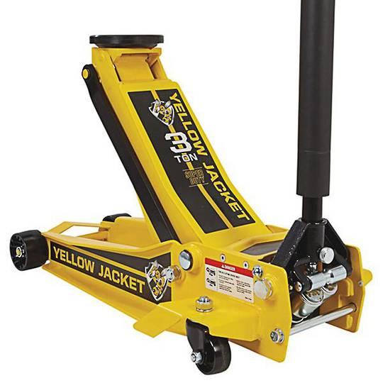 Powerbuilt 3Ton Yellow Jacket Trolley Jack