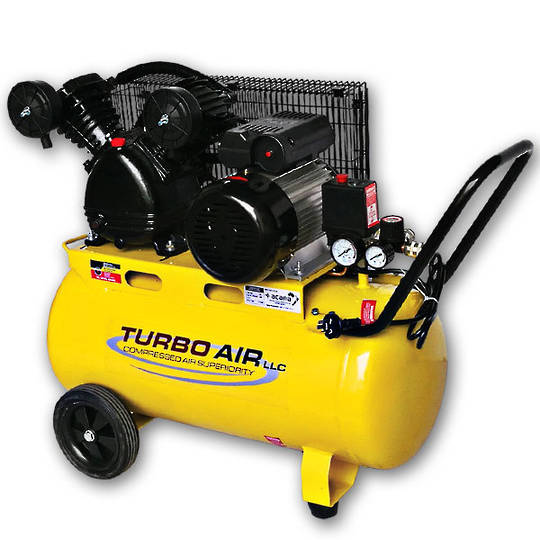 Turbo Air 3HP Air Compressor 50L Belt Drive