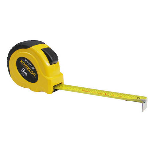 Komelon 8m AutoLock Measuring Tape