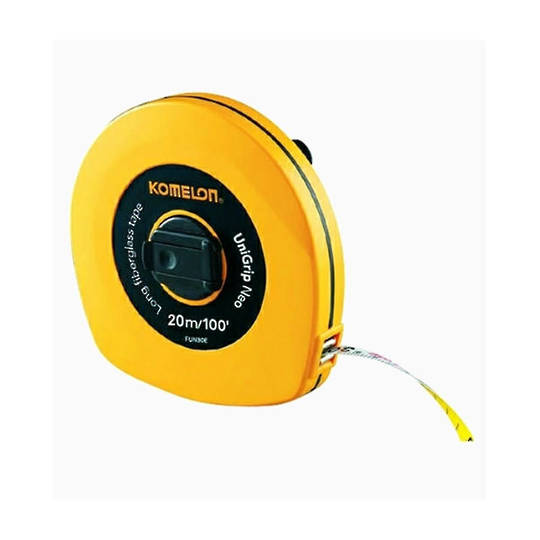 Komelon 20m  Fibreglass Tape