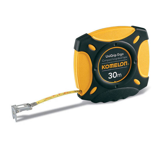Komelon Gripper 30m Steel Tape