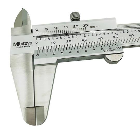 """Mitutoyo Vernier 8""""/200mm x .001"""" / 0.02mm"""