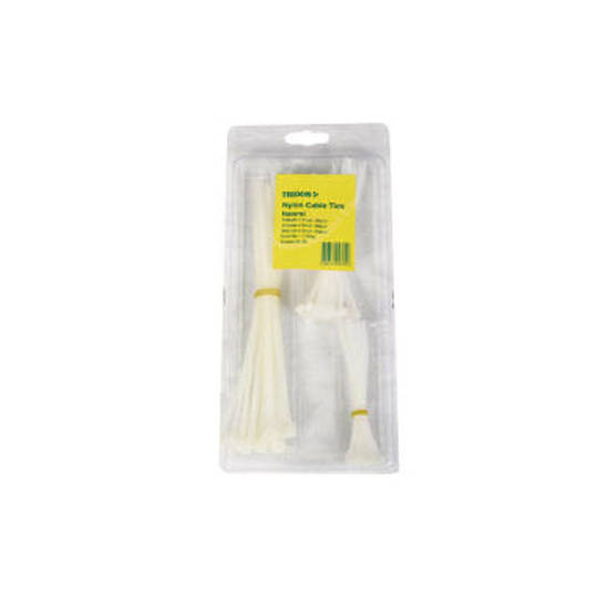 Tridon Cable Ties Various Clear 75 pack