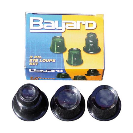 Bayard Eye Loupe 3pce    2x, 5x, 10x