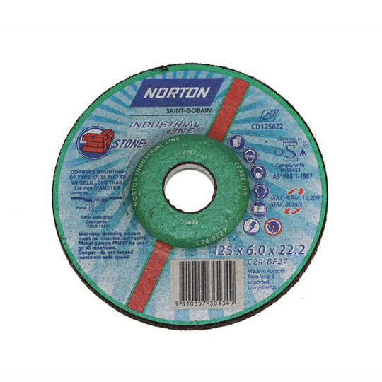 Norton Masonry Grinding Wheels