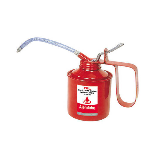 Alemlube 600ml Flex Spout Oil Can