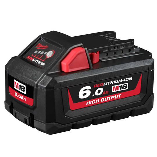 Milwaukee M18HB6 High Output 6.0Ah Lithium Battery