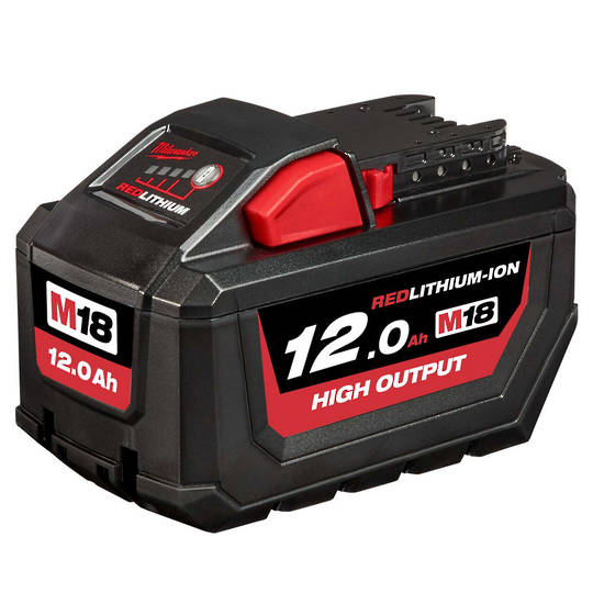 Milwaukee M18HB12 High Output12.0Ah Lithium Batter