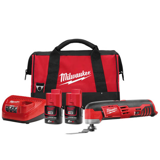 Milwaukee C12MT-202B Multi Tool Kit