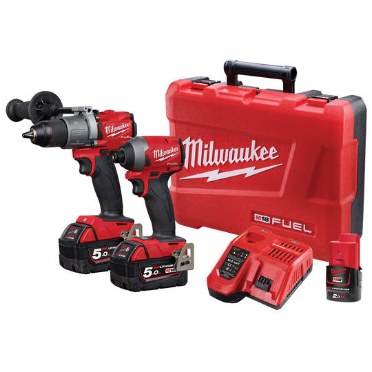 Milwaukee M18FPP2A2-502C 2pc Drill/Driver Fuel Power Pack