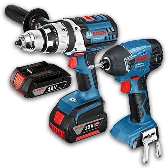 Bosch 18V Drill & Impact Driver 2pc Combo