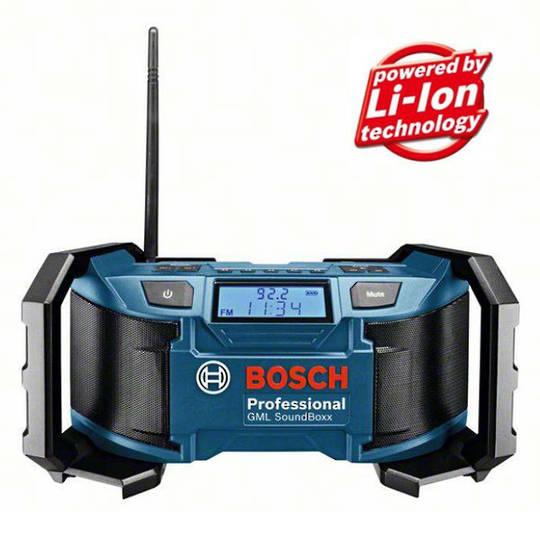 Bosch SoundBoxx Cordless Radio - GML 18 V-Li