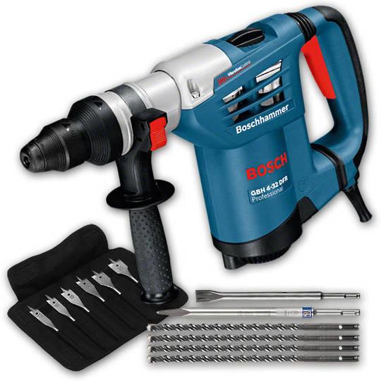 Bosch Rotary Hammer Kit - GBH 4-32 DFR