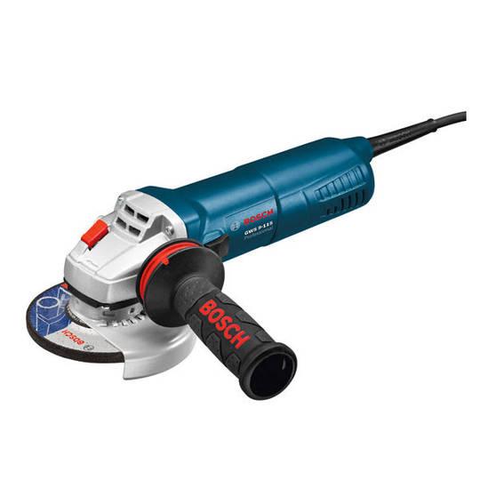 Bosch 115mm Angle Grinder 900W - GWS 9-115