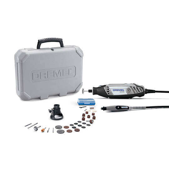 Dremel 3000-2/30 Moto Tool with 30 Accessories