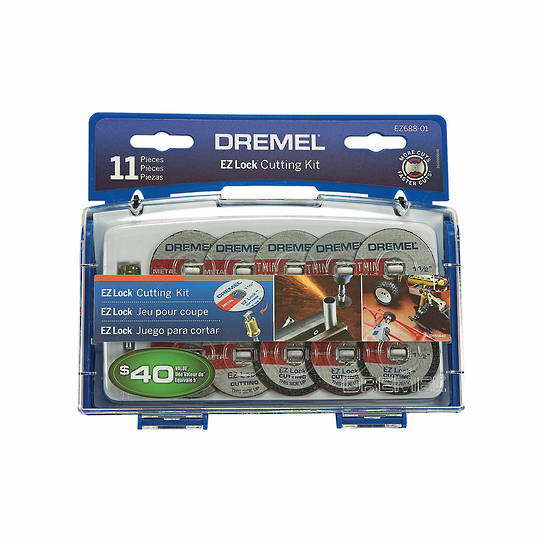 Dremel EZ688-02 EZ Lock Cutting Kit 11pc