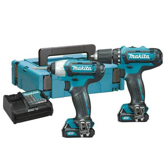Makita 2pc 12v Combo Kit with 2 x 2.0Ah Batteries