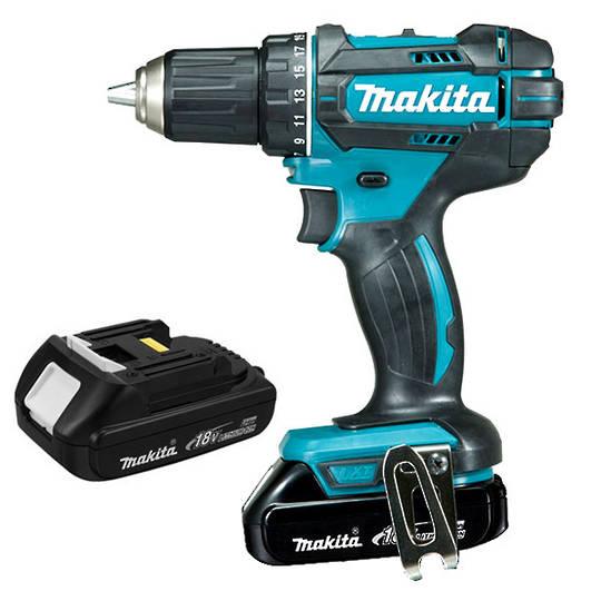 Makita DDF482SYE Cordless 18V Drill Kit 1.5Ah Batteries