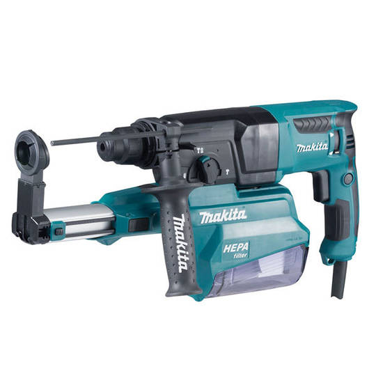 Makita 26mm Rotary Hammer with HEPA Self Dust Collection