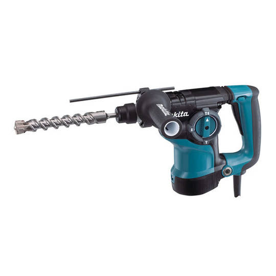 Makita 28mm Rotary Hammer SDS Plus - HR2811FT