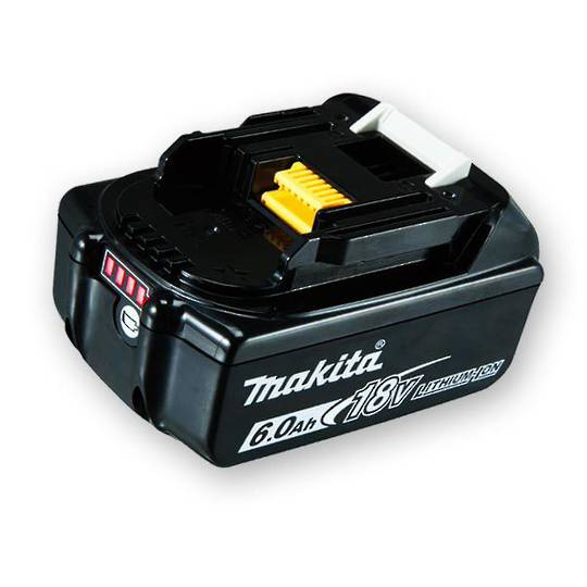 Makita 6Ah 18V Li-Ion Battery - BL1860B