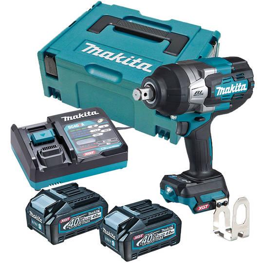 "Makita TW001GM203 40V Max XGT Brushless 3/4"" Impact Wrench Kit"