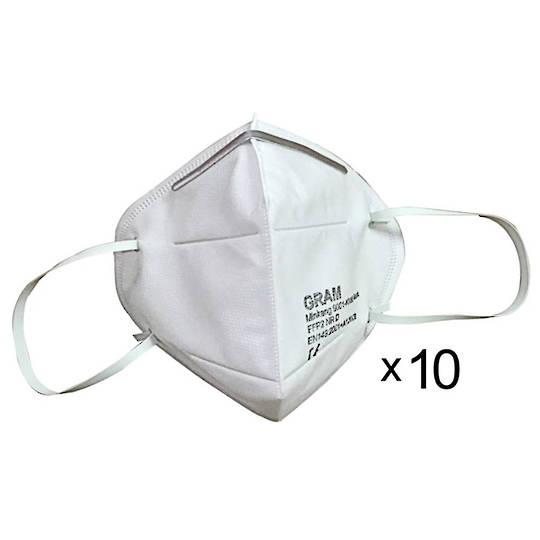 KN95 Respiratory Masks (x10)
