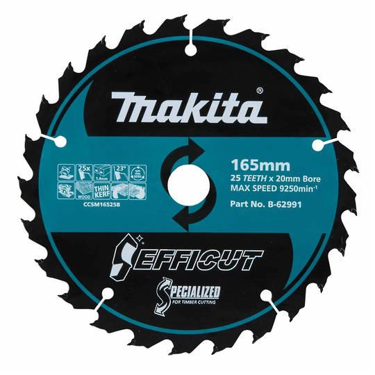 Makita EFFICUT 165x25T DHS660