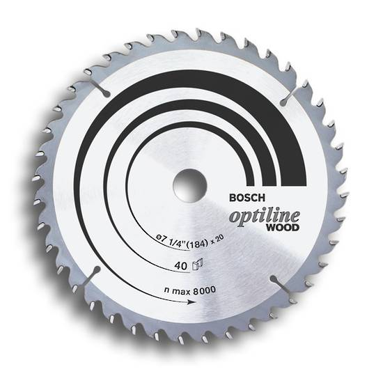 Bosch Optiline Saw Blades