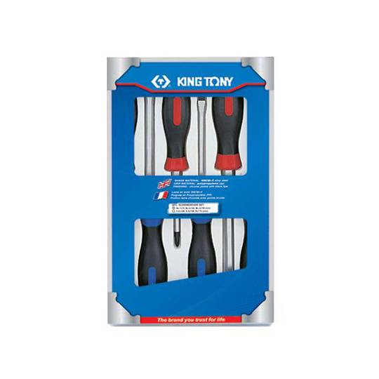 King Tony 6pc Screwdriver Set