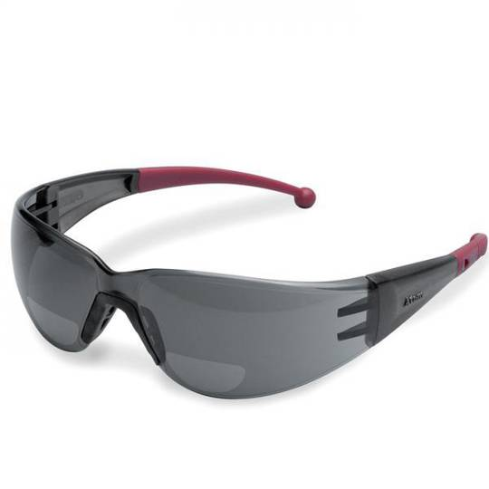 Elvex Safety Glasses Bi-Focal Grey