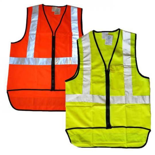 Blue Eagle Hi Vis Vest Yellow