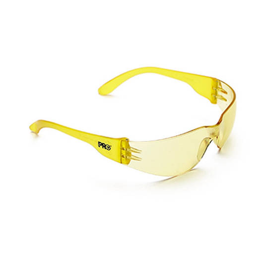 ProChoice Safety Glasses Tsunami Amber