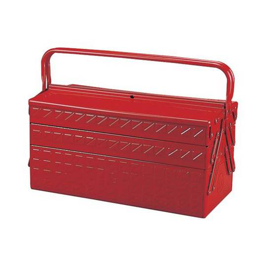 King Tony 3-Section Fold Up Tool Box