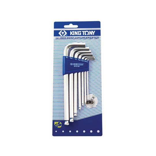 King Tony 7pc Long Metric Hex Key Set