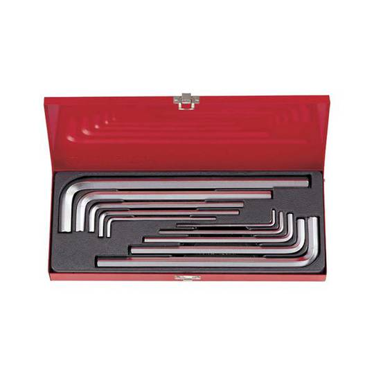 King Tony 10pc Extra Long Metric Hex Key Set
