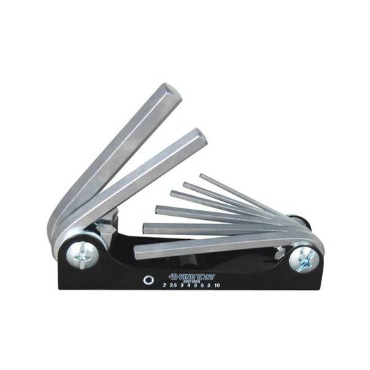 King Tony 8pc Metric Fold Up Hex Key Set
