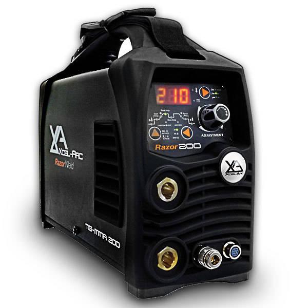 RazorWeld TIG200 HF TIG/MMA DC Inverter Welder