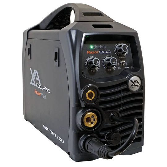 RazorWeld MIG200 MIG/MMA Compact Inverter Welder