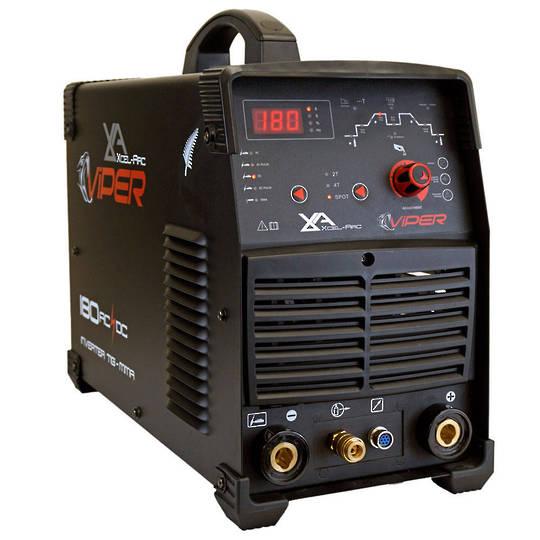 Viper TIG180 AC/DC TIG/MMA Inverter Welder, 10 Amp Plug