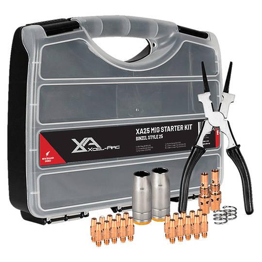 Xcel-Arc Mig Torch Spares Starter Kit Binzel Style 25