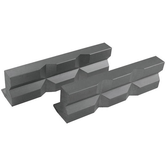ITM Magnetic Soft Vice Jaws Alumimium Prism 125mm