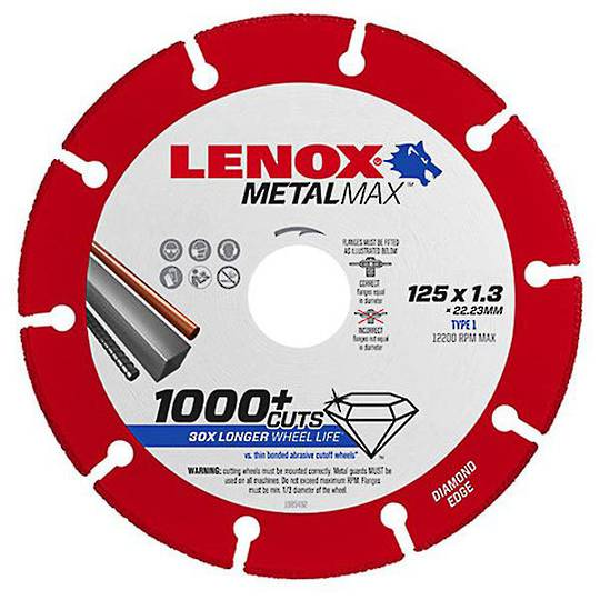 Lenox MetalMax Diamond Edge Cut Off Discs