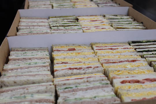 Classic 3 type Assorted Sandwich Platters - 20 each