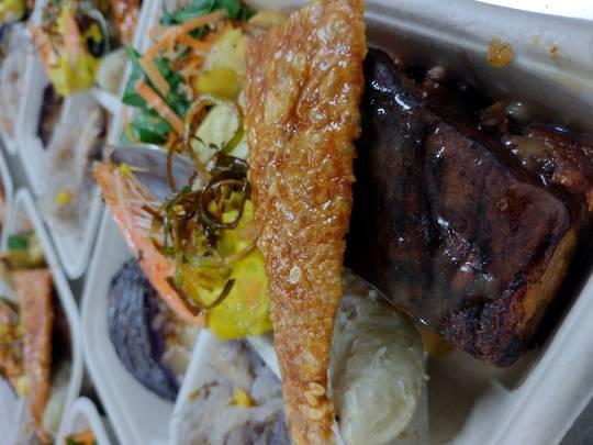 Pasifika Surf & Turf Me'akai Plate of Food