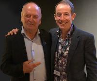Nigel Stirling with Graham Henry